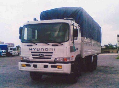 Xe tải hyundai HD260 thùng mui bạt
