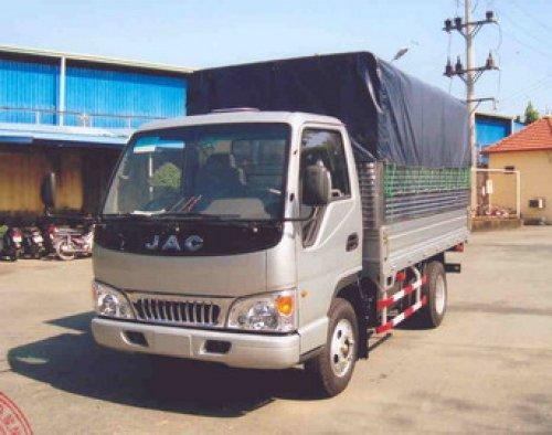 xe tải jac 1,3T thùng mui bạt