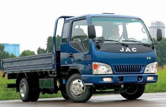 Xe tải jac 2,5 tấn thùng lửng