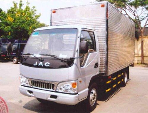 Xe tải jac 2t8 thùng kín