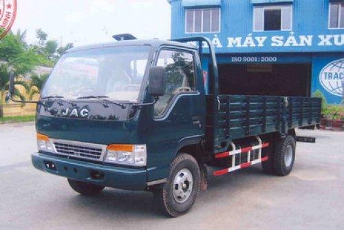 Xe tải jac 4t5 thùng mui kín