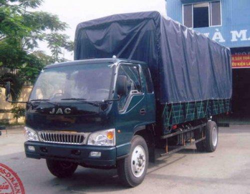 xe tải jac 6tan mui bạt