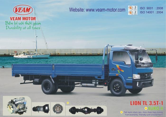 xe tải veam lion 3t5